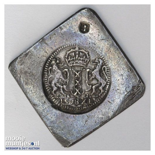 Amsterdam - Veertig stuiver  - 1578 (kant A)