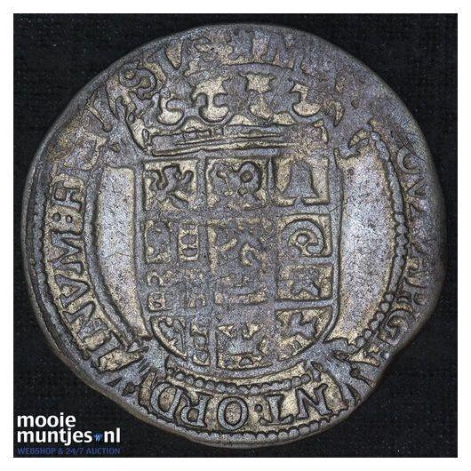 Utrecht - Halve zilveren dukaat - 1761 (kant A)