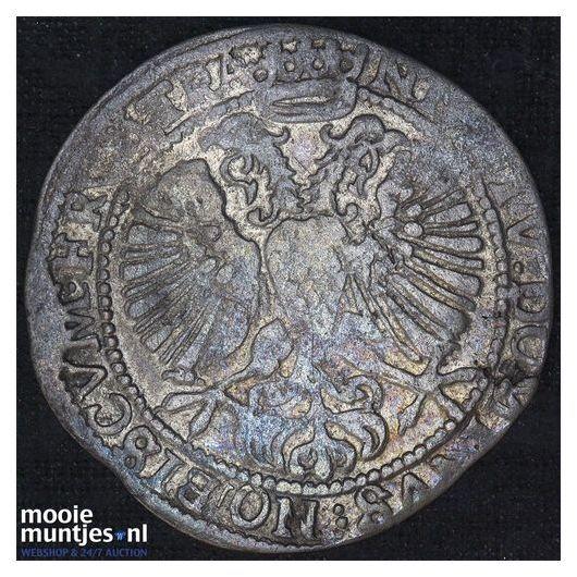 Utrecht - Halve zilveren dukaat - 1761 (kant B)