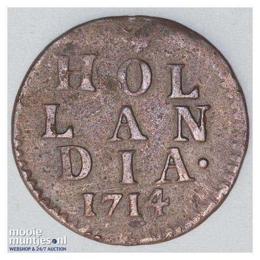 Holland - Duit - 1723 (kant A)