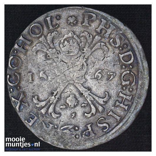 Holland - Scheepjesschelling - 1727 (kant A)