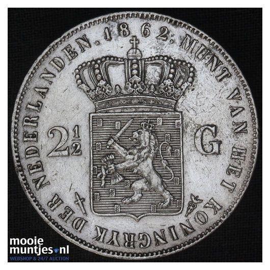 2½ gulden - Willem II - 1843 (kant A)