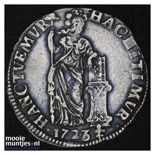 Overijssel - Gulden - 1723 (kant A)