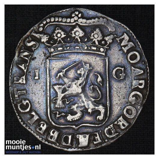 Overijssel - Gulden - 1723 (kant B)
