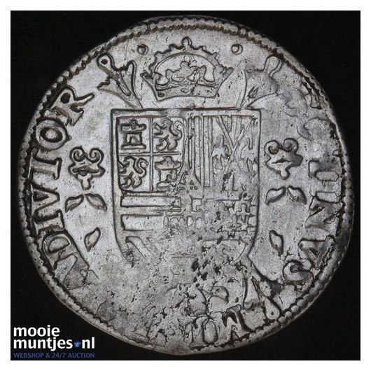 Overijssel - Vijfde Philipsdaalder - 1566 (kant B)