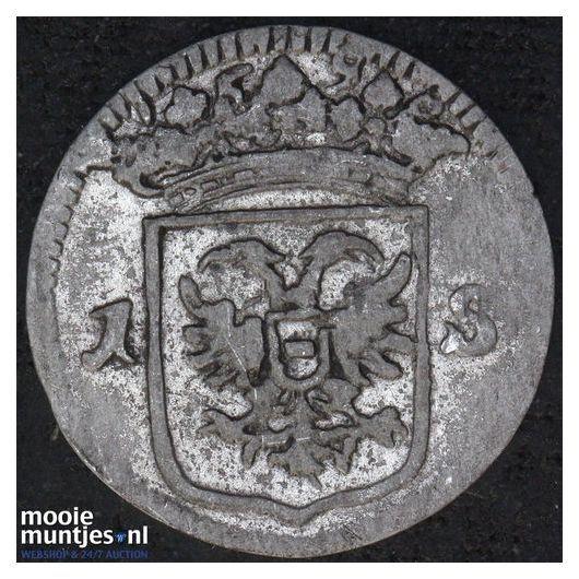 Groningen - Pijl- of bezemstuiver - 1765 (kant A)