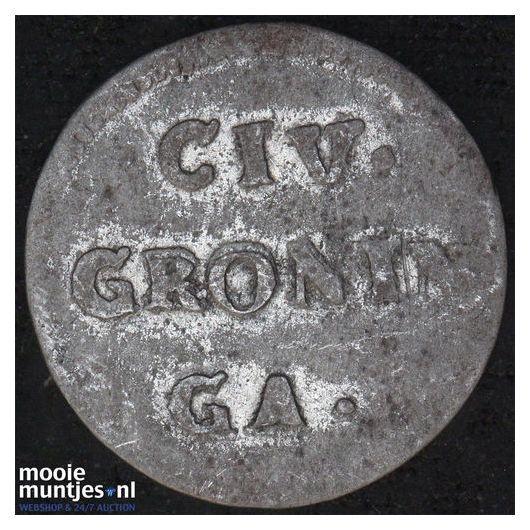 Groningen - Pijl- of bezemstuiver - 1765 (kant B)