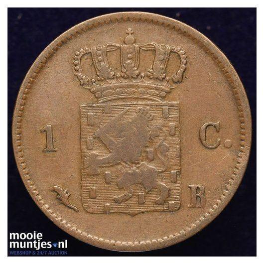 1 cent - Willem I - 1826 Brussel (kant B)