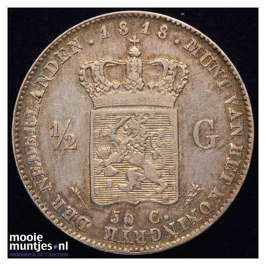 25 cent - Wilhelmina - 1917 (kant A)