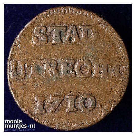 Stad Utrecht - Duit - 1784 (kant A)