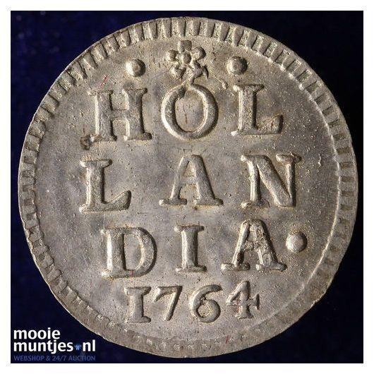 Holland - Pijl- of bezemstuiver - 1764 (kant A)