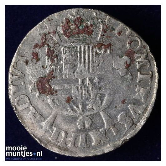 Holland - Vijfde Philipsdaalder - 1571 (kant B)