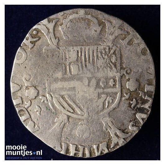 Holland - Vijfde Philipsdaalder - z.j. (1562-1564)) (kant B)