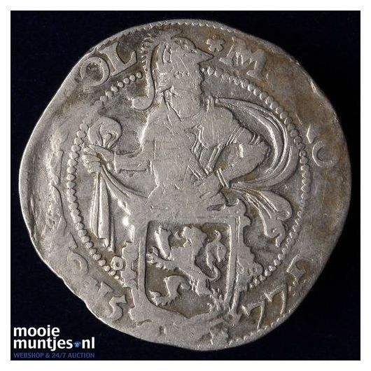Holland - Halve leeuwendaalder - 1577 (kant A)