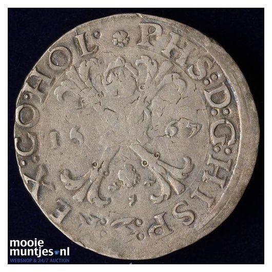 Holland - Bourgondische kruisrijksdaalder - 1567 (kant A)