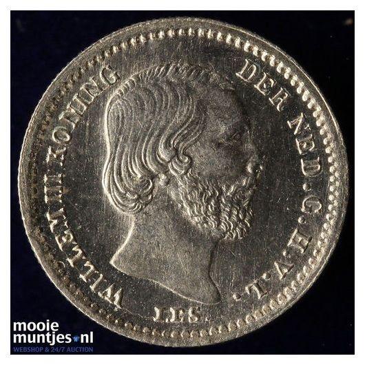 5 cent - Willem III - 1869 (kant B)
