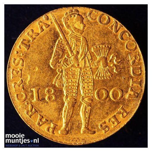 Utrecht - Gouden dukaat - 1800 (kant A)