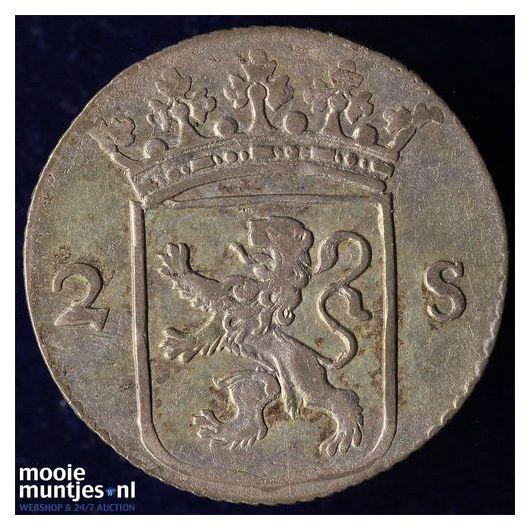 Utrecht - 2 stuiver - 1796 (kant B)